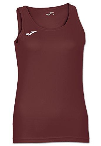 Joma 900038.671 - Camiseta para Mujer, Color Burdeos Oscuro, Talla L