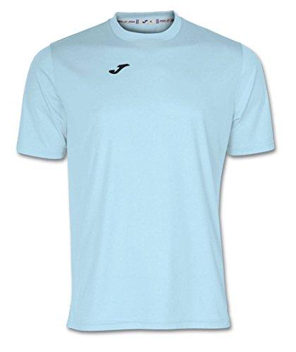 Joma Combi Camiseta Manga Corta, Hombre, Azul (Celeste), S