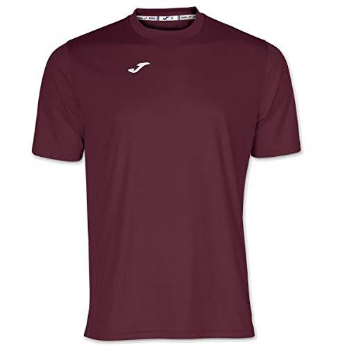 Joma Combi Camisetas Equip. M/c, Hombre, Burdeos, XL
