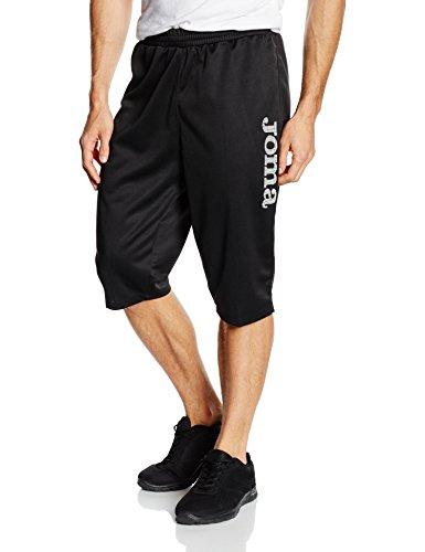 Joma Luxor Pantalones Cortos, Unisex Adulto, Negro, 3XL