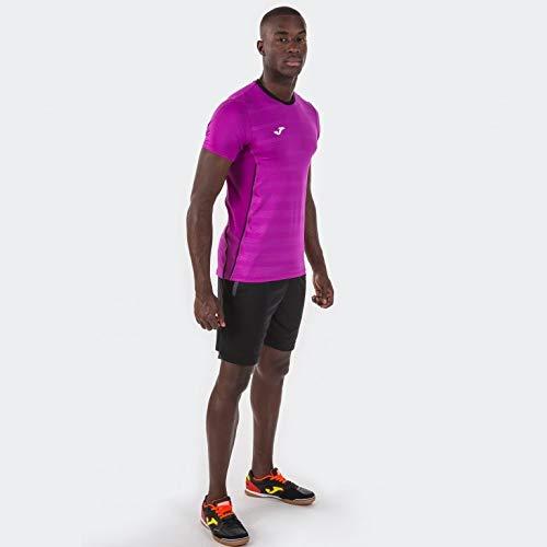Joma Miami Bermuda Deporte de Tenis, Hombre, Negro, L