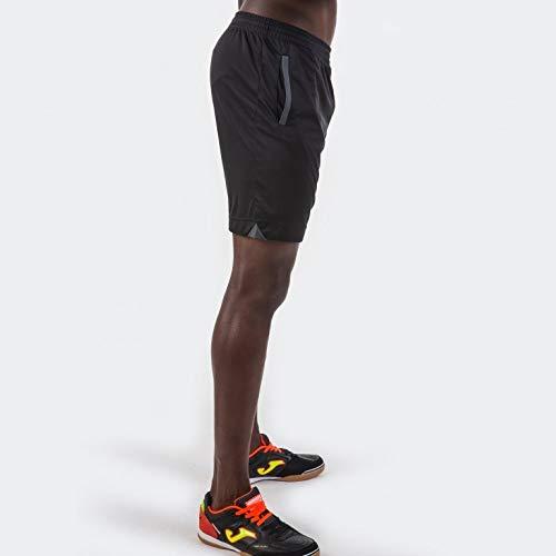Joma Miami Bermuda Deporte de Tenis, Hombre, Negro, M