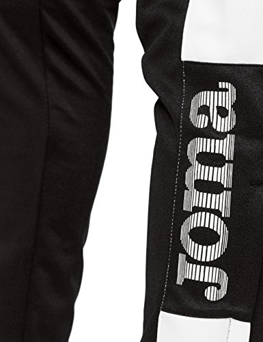 Joma Pantalon Championship IV Largo, Hombre, Negro (Black/White), M