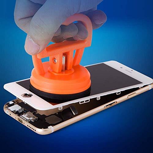 Juego de 6 herramientas para desmontaje de abolladuras con ventosa para teléfono móvil, tablet, lcd, disco y coche de reparación, extractor