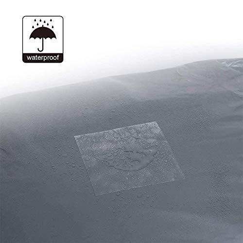 kangji 10 Piezas Cinta de Reparación de Carpa de TPU, Cinta de Carpa Transparente, Parches de Reparación de Carpa, para Carpas de Camping Toldos, Piscinas, Colchones Inflables