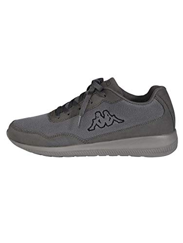 Kappa Follow OC, Zapatillas para Hombre, Grey/Black 1611, 43 EU