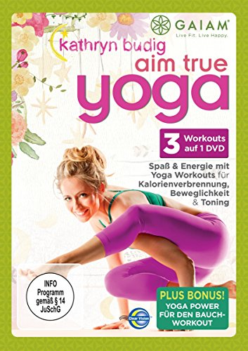 Kathryn Budig - Aim True Yoga [Alemania] [DVD]