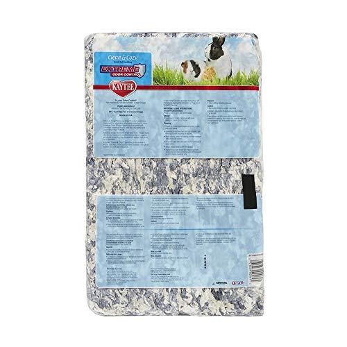 Kaytee Material para Nido superabsorbente, Cama de Papel perfumado, Control Extremo del Olor, Clean & Cozy