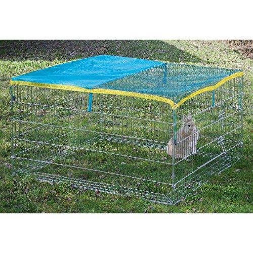 Kerbl pequeño Animal Sol protección para Exterior almacenaje de Repuesto 115x 115x 65cm