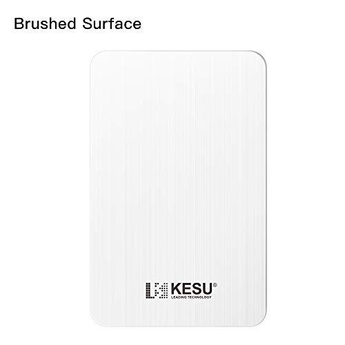 KESU Disco Duro Externo Portátil 1TB, Type C USB3.1 HDD Almacenamiento para PC, Mac, MacBook, Chromebookk, Xbox One, Xbox 360, PS4 (Blanco)