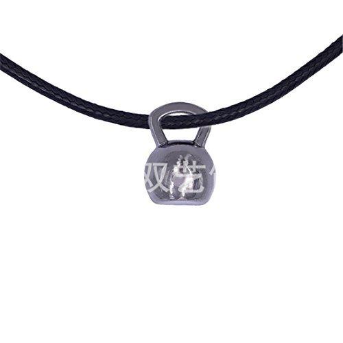 Kettlebell Collar Kettlebell Joyería Ejercicio Collar Joyería Entrenamiento Joyería Pérdida de Peso