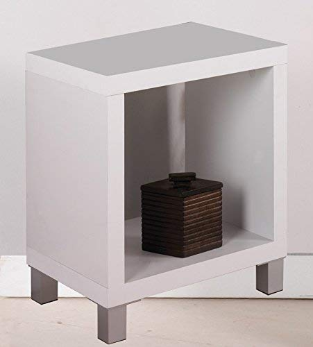 "Kit Closet Estantería ""Kubox"" 1 hueco blanco"