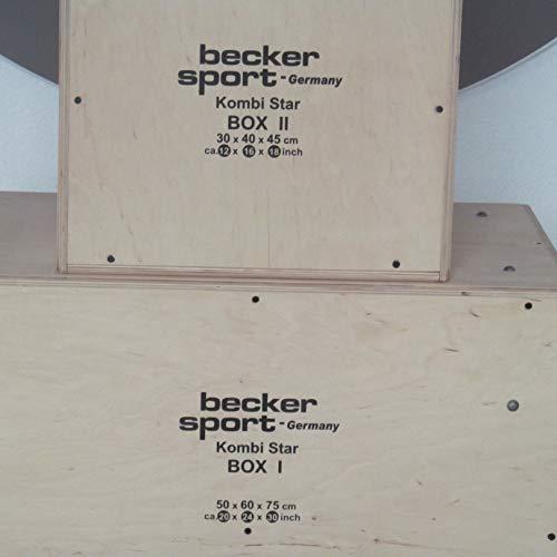 KombiStar BOX I y BOX II como set de 12 alturas de salto, 9 variantes de miniaparcamiento y 9 variantes de caja escalonada (BSG 28943)