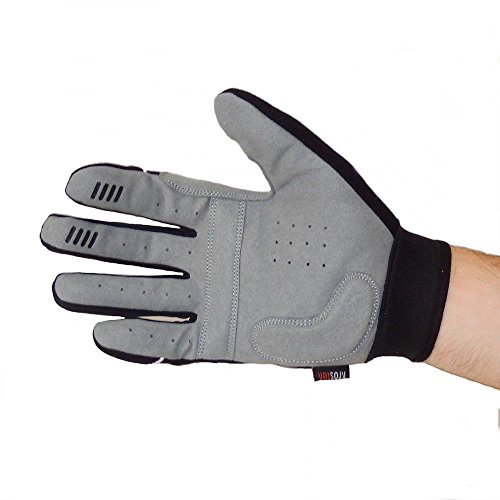 KrosteK Par de Guantes Full Fingers (S) - Guantes de Dedo Largo para Evitar los Callos. Entrenamiento Funcional.