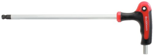 KS Tools 151.8132 - Destornillador Torx ergonómico con varilla alargada (punta hexagonal, 3 mm)