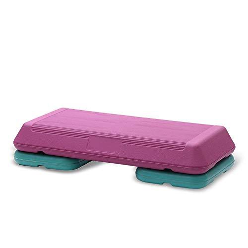 La Plataforma AeróBica Step con 2 Risers Stepper 4 Pulgadas - 6 Pulgadas Comfort Cushion Top Que Soporta hasta 330 LB
