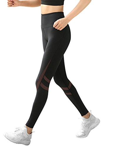 LaLaAreal Mallas Deportivas Mujer Pantalones Pirata Leggins Deportes para Running Yoga Fitness Gym