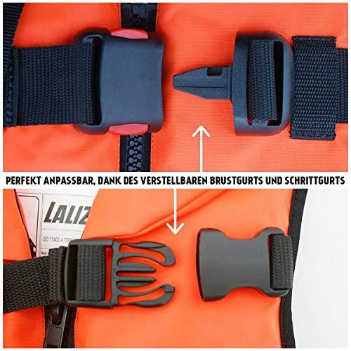 LALIZAS - Chaleco salvavidas sólido 100 N CE ISO 12402-4 certificado para niños de 3 a 10 kg