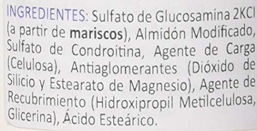 Lamberts Complejo Glucosamina con Condroitina - 120 tabletas