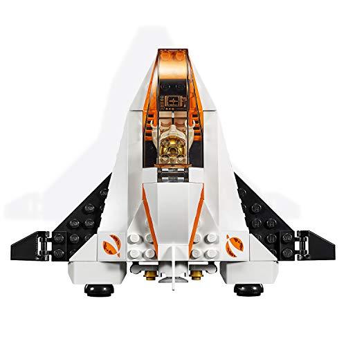 LEGO City Space Port - Misión: Reparar el Satélite, set de Construcción Inspirado en la NASA con Mini Lanzadera Espacial de Juguete, Serie Expedición a Marte (60224)