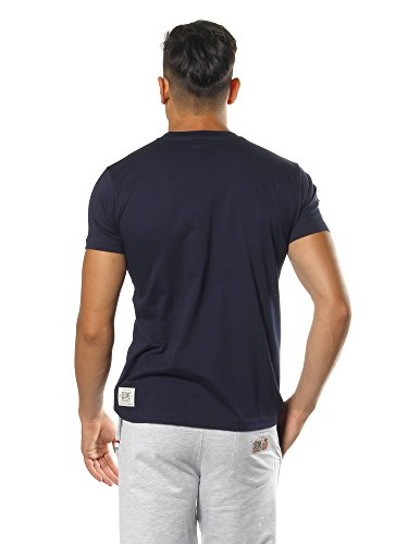 León 1947Never out Stock, Camiseta para Hombre, Hombre, Never out Stock, Turquesa, Large