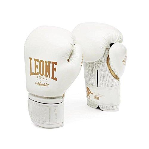 LEONE 1947 GN059 Guantes de Boxeo, Unisex – Adulto, Negro, 12OZ