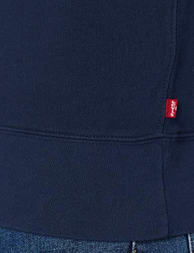 Levi's Graphic Crew B Sudadera, Azul (Hm Ssnl Film 2 Dress Blues 0081), Medium para Hombre
