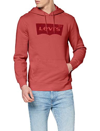 Levi's Graphic Po Hoodie-B Sudadera, Rojo (Hm Ssnl Tonal Pop Earth Red 0107), Medium para Hombre