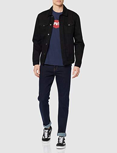 Levi's Graphic Set-In Neck, Camiseta para Hombre, Azul (C18977 Graphic H215-Hm Dress Blues Graphic H215-Hm 36.3 139), Large