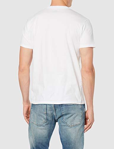 Levi's Graphic Set-In Neck, Camiseta para Hombre, Blanco (C18978 Graphic H215-Hm White Graphic H215-Hm 36.4 140), Medium