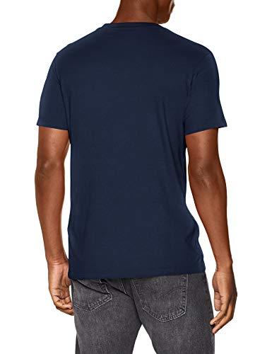Levi's SS Original Hm tee Camiseta, Azul (Cotton + Patch Dress Blues 0017), Medium para Hombre