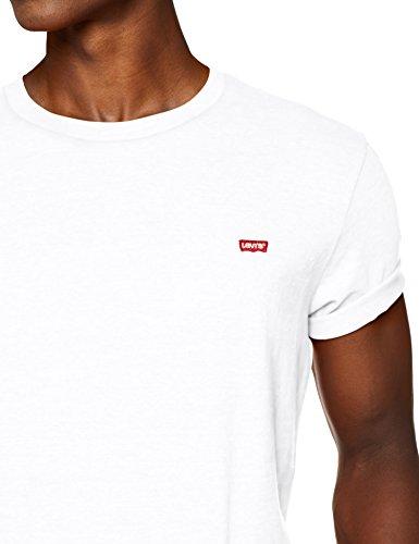 Levi's SS Original Hm tee Camiseta, Multicolor (Cotton + Patch White 0000), Large para Hombre