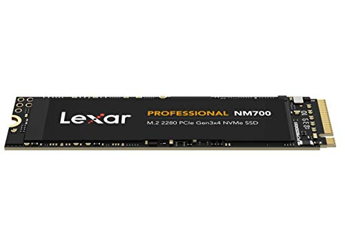 Lexar Professional NM700 M.2 2280 PCIe Gen3x4 NVMe 1 TB SSD (LNM700-1TRB)