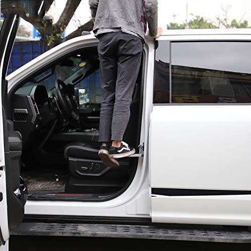 LFOTPP Eclipse Cross Outlander CW0 SUV Outlander Sport aleación de aluminio plegable Auto Türpedal, gancho Pedal Klapppedal Sicherheitshammer