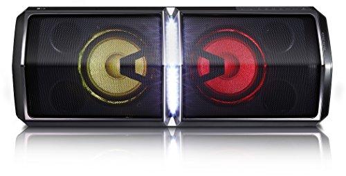 LG FH6 - Altavoz inalámbrico Hi-Fi (Bluetooth, radio FM y USB grabador) Color negro