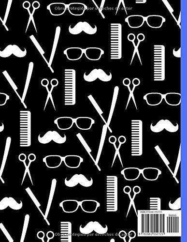 Libro de citas: Agenda de citas para peluquería y barbería - anote fácilmente sus citas diarias para su salón de belleza masculino - 1 caja cada 15 minutos de 8 A.M. a 7 P.M.