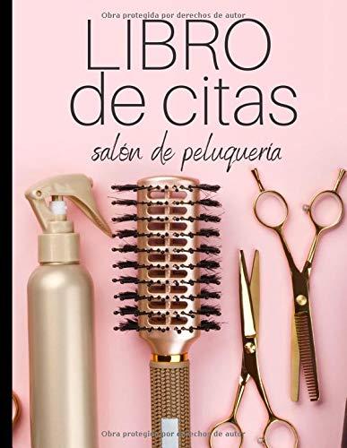 Libro de citas: Agenda de citas para peluqueros y peluqueras - anote fácilmente sus citas diarias para su salón de belleza - 1 caja cada 15 minutos de 8 a 19 horas.