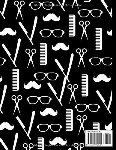 Libro de citas: Calendario de citas para peluquería y barbería - anote fácilmente sus citas diarias para su salón de belleza masculino - 1 caja cada 15 minutos de 8 A.M. a 7 P.M.