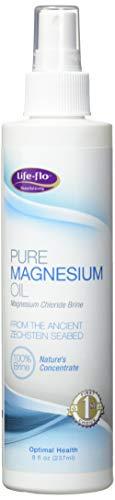 life-flo puro aceite de magnesio, 8onzas