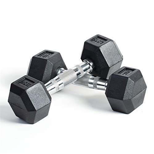 lINOC Mancuernas 2.5kg-50KG 5-100LB Pesas para Gimnasio en Casa Ejercicio Fitness Entrenamiento [1 pc],2.5kg