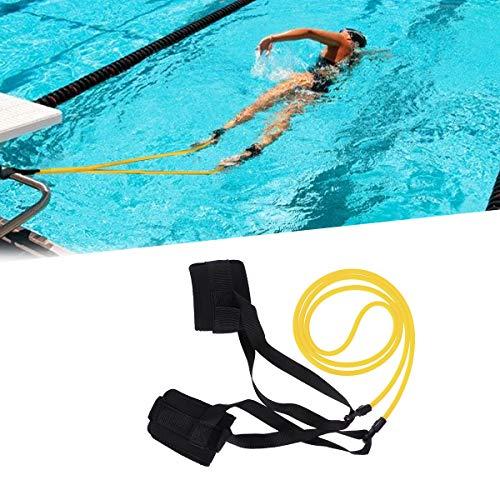LIOOBO Nadar Correa del Tobillo Estacionario Nadador Fitness Nadar Vuelta Nadar Entrenamiento Correa 6x9x2m