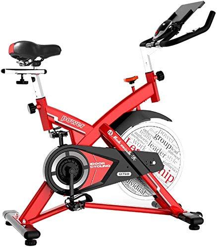 LNDDP Bicicleta estática - Equipo aeróbico - ¿Máquina Vertical Entrenamiento para Ciclismo Interior?Spinning? Flywheel for? Cardio Workout
