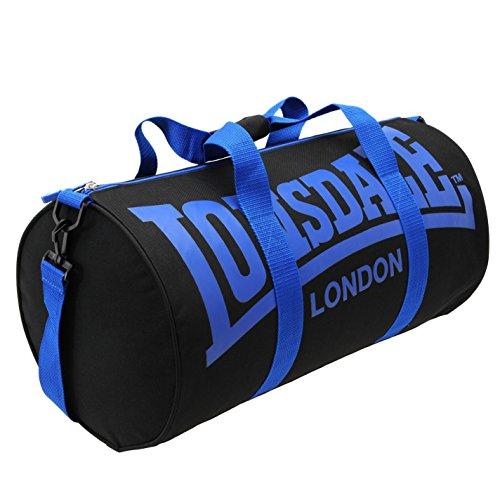 Lonsdale–bolsa de gimnasio y fitness, color negro, talla Talla única