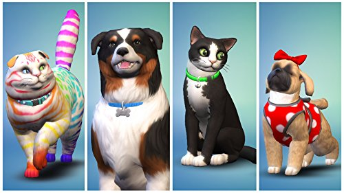 Los Sims 4 - Expansión Perros y gatos (La caja contiene un código de descarga - Origin)