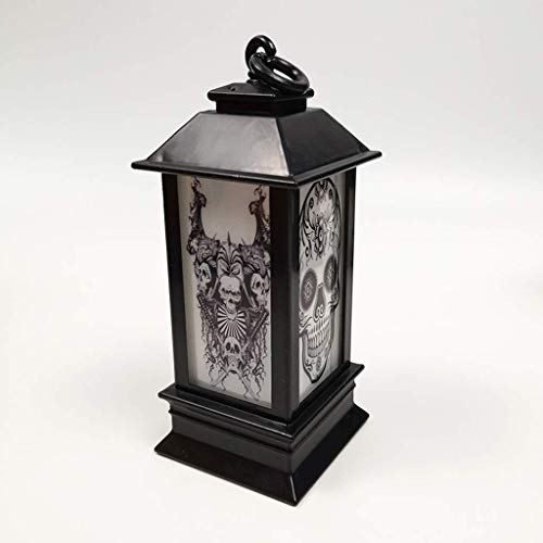 LQH LED Enciende la lámpara de Halloween decoración del hogar Creativo de Luces en la Noche Luces de la Noche 1PC (Size : 1)