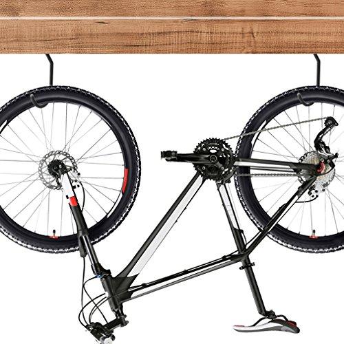 Luxebell Ganchos para Bicicletas, Paquete de 8 Ganchos de Almacenamiento de Bicicletas para Uso Pesado Juego de Gancho Montado para Sala de Almacenamiento