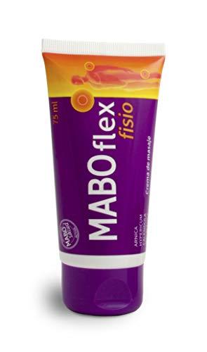 MABO Flex Fisio 75 ml - Crema de Masaje para Alivio de Dolores Musculares y Articulaciones Arnica Caléndula Mentol Hypericum Colágeno