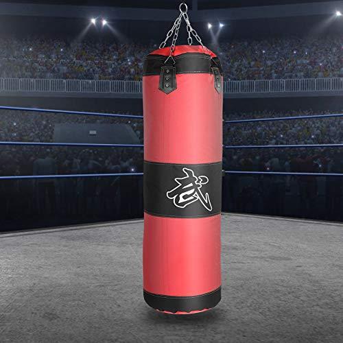 MAGT Bolso Pesado De Boxeo Duradero, Saco De Arena con Saco De Arena Funcional Bolsa De Entrenamiento Vacío De Boxeo Gancho Kick Fight Karate Bolsa De Arena para Entrenar Ejercicio Físico Y Deportivo