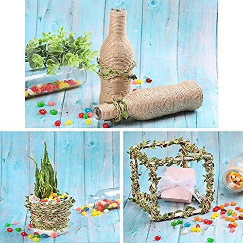 make it funwan - Guirnalda de Flores Artificiales de Vino, 20 m, para decoración del hogar, Boda rústica
