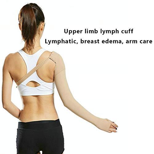 Manga de compresión postmastectomía | se puede utilizar para prevenir el linfedema de brazo y otros síntomas después de la cirugía de mama, principalmente hecha de spandex, sigue el diseño de la